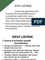 Sifat Listrik