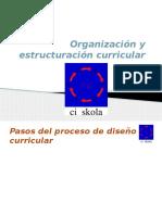 Organización y Estructura Curricular