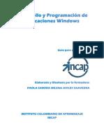 Desarrollo y Programacion de aplicaciones windows