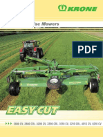 Ec Trailed Disc Mower Leaflet