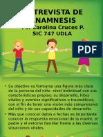 Anamnesis en Clínica Infanto