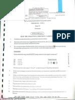 2008 CAPE Chemistry Unit 1 Paper 1