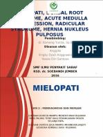 Mielopati, HNP(1)