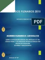 4651 Acuerdos Plenarios 2015