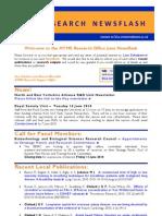 Research Newsflash 2010 June