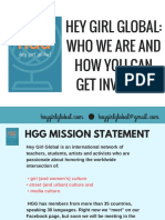 hey girl global- who we are and how you can get involved