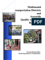 09 Multimodal Transportation Districts and Areawide Quality of Service Handbook