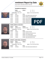 Peoria County Jail Booking Sheet for Sept. 6, 2016