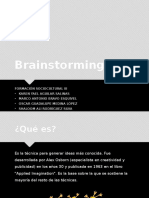 Brainstorming (Lluvia de ideas)
