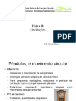 Aula 3-Oscilações (Pêndulos e MC)