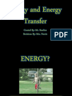 Energy, Energy Transfer and Heat Notes and Activities
