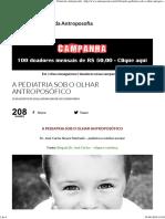 A Pediatria Sob o Olhar Antroposófico (BVA)