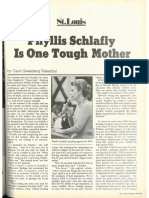 Phyllis Schlafly Is One Tough Mother