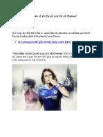 That dien Ro Khi David Luiz Tro Ve Chelsea