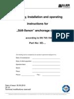 Xenon HLL CE Manual