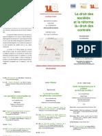 Programme Colloque Dijon - 14 Oct. 2016