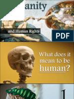 humanity and human rights