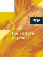 The Culture of Peace