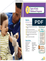 Types Early Childhood Programs