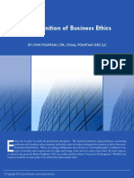 The Definition of Business Ethics33706