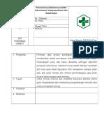 SOP Pemantauan Pelaksanaan Prosedur Laboratorium, Hasil Pemantauan Dan Tindak Lanjut (8.1.2.3)