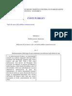 Decreto Legge Manovra Straordinaria 2010 Dl 78/2010