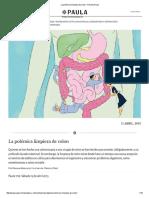 La Polémica Limpieza de Colon - Revista Paula