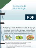 Concepto de Microbiología