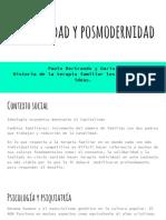 Modernidad y Postmodernidad