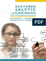 Structured Analytic Techniques for Intelligence Analysis- Heuer, Richards J. & Pherson, Randolph H