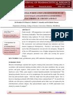 SEPARATION, PARTIAL PURIFICATION AND MITOGENICITY OF ENTERIC VIBRIO FLUVIALIS ANDAEROMONAS HYDROPHILA LIPOPOLYSACCHRIDES IN CHICKEN AND RAT
