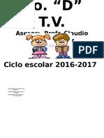 ROL DE ASEO