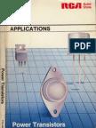 RCA - Power Transistor Applications Manual (OCR)