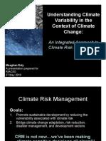 RIACSO Meeting - CC and Variability