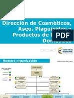 Dirección de Cosméticos Aseo Plaguicidas Presentacion