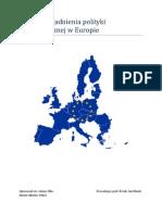 Etyka a Demografia w Europie