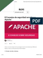 Consejos Seguridad Apache