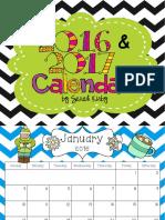 snack calendar