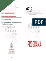 Programa Cihalcep 2015 13-06-2015
