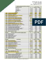 Tabela Frugal - 30.07.2016