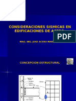 Diseño Sismico de Acero 17-05-2015