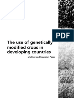 The Use of GMOs for Development Countries