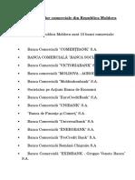 Topul Bancilor Comerciale Din Republica Moldova