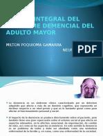 MANEJO INTEGRAL DEL SINDROME DEMENCIAL DEL ADULTO MAYOR.pptx