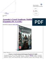 Assassin's Creed Syndicate Multilenguaje (Español) (PC-GAME) - IntercambiosVirtuales