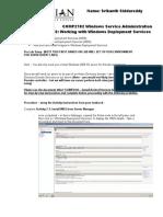 Assignment 1Deployment Services(1)