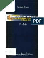 PRADO, Geraldo. Interceptações telefônicas....pdf