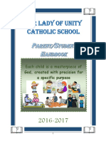 olu parent-student handbook 2016-2017