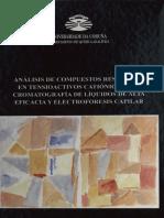 Análisis de Compuestos Residuales en Tensioactivos Catiónicos