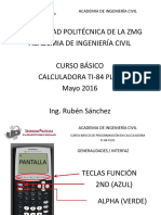 Programación y gráficos TI-84 PLUS